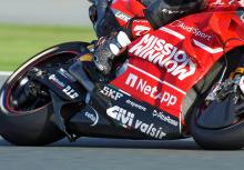Aprilia: A wing creates downforce...