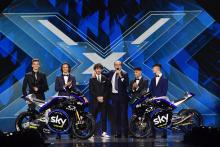 VR46 unveil 2019 livery on X-Factor