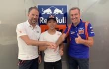 Sasaki is Tech3's first Moto3 signing