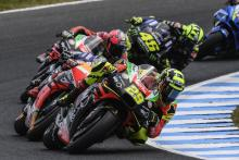 'Thrilling' - Iannone leads for Aprilia