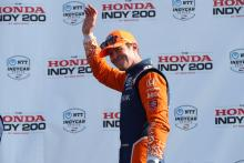 Scott Dixon sees off teammate Felix Rosenqvist in Mid-Ohio battle