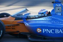 Dixon pleased with first IndyCar windscreen test
