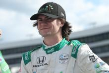 Spirited fight by Colton Herta ends 19 laps early at Texas