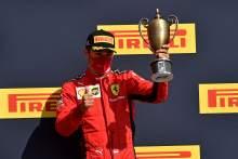 """2020 my """"best season in F1"""" despite Ferrari's struggles - Leclerc"""