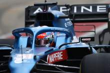 WATCH: Esteban Ocon takes to the track in new-look Alpine 2021 F1 car