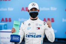 de Vries takes dominant pole for Mercedes in Diriyah Formula E season-opener