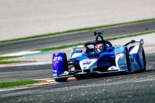Gunther quickest, Buemi wins trial race as FE testing ends