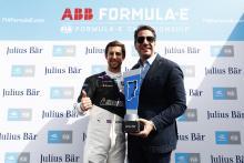 Sims takes third straight Formula E pole in Diriyah