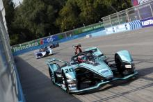 Evans beats Guenther to Santiago Formula E pole
