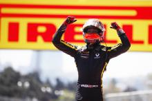 Aitken survives race of attrition for Baku F2 win
