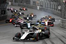 F2 Monaco - Feature Race Results