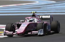 Hubert controls France sprint race for second F2 win