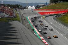 Formula 2 Austria - Sprint Race Results