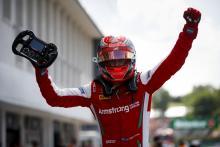 Ferrari junior Armstrong dominates for maiden F3 win