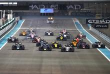 Formula 2 Abu Dhabi - Feature Race Results