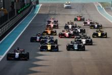 F2 Abu Dhabi - Sprint Race Results