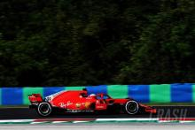 Giovinazzi lowers pace as Ferrari tops first day of Hungary F1 test