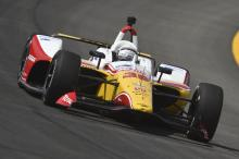 Alexander Rossi fuming with Takuma Sato after 5-car shunt