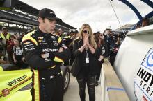 Polesitter Simon Pagenaud hopes to parlay momentum into 500 win