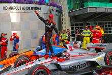 Power takes Penske's 200th IndyCar win at Indianapolis GP
