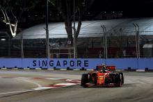 Leclerc takes third straight F1 pole after Singapore Q3 stunner