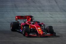Vettel takes Singapore victory as Ferrari strategy frustrates Leclerc