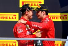 "Ferrari ""forgot"" to tell Leclerc about Vettel's penalty"