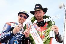 NW200: Alastair Seeley extends record with treble
