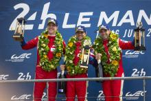 Ferrari menandai 70 tahun sejak kemenangan pertama di Le Mans dengan kemenangan GTE-Pro