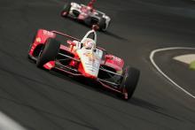 Josef Newgarden tops the scoring pylon in Day 2 Indy 500 practice