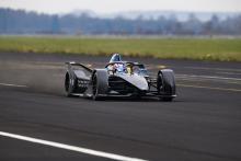 BMW completes first Formula E Gen2 running