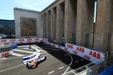 Rosenqvist fastest in Rome Formula E practice