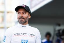 Biaggi completes Formula E show run in Rome