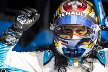 Buemi sets record Punta pace to lead opening Formula E practice