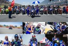 Vinales visits South Africa, laps Kyalami
