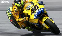 Valentino Rossi: Cornering through time