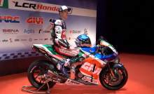 FIRST LOOK: Alex Marquez in LCR Honda MotoGP colours
