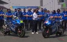 FIRST LOOK: Mir, Rins unveil Suzuki's 2021 MotoGP colours