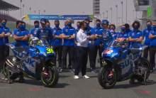FIRST LOOK: Mir, Rins unveil Suzuki's 2021 MotoGP colours