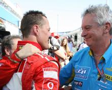 How Schumacher raised the bar in F1 – Symonds