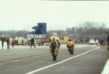 Freddie Spencer, Honda, MotoGP, 1983 French GP, Le Mans,