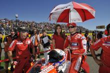 Casey Stoner, Ducati, Aragon MotoGP,