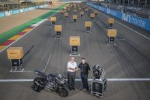 Triumph hands over 2019 Moto2 engines at Aragon