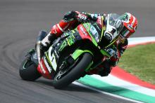 Rea pulls clear of Sykes, Davies
