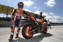 Fastest Marquez feels refreshed by MotoGP 'adrenaline'