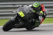 Crutchlow: My ankle feels alright on the bike but off it…