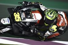 Crutchlow 'not even close to thinking about race'