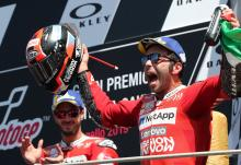Petrucci powers to maiden MotoGP win in Mugello thriller