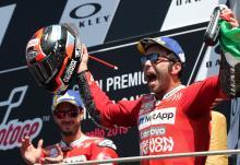 Petrucci powers to maiden MotoGP win in Mugello thriller