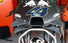 PICS: Gurney flaps on the KTM
